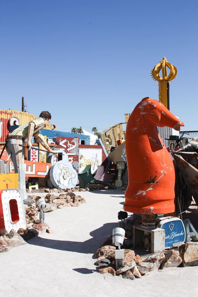 The Neon Sign boneyard in Las Vegas