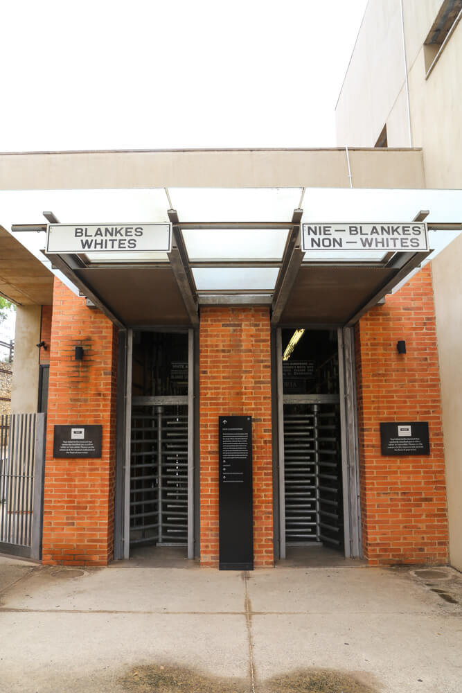 Visit the Apartheid Museum during this 1 day in Johannesburg itinerary