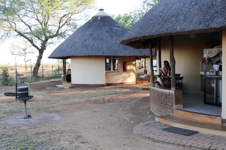 A picture of Kruger campsite Satara