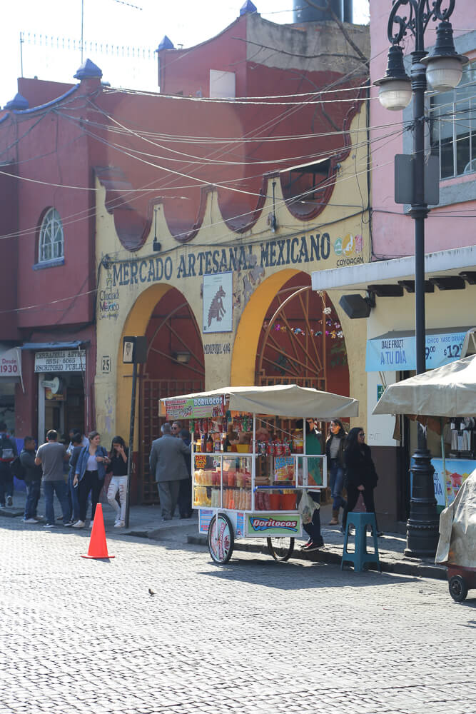 The Coyoacan market was one of my favorite Things to do in Coyoacan Mexico City
