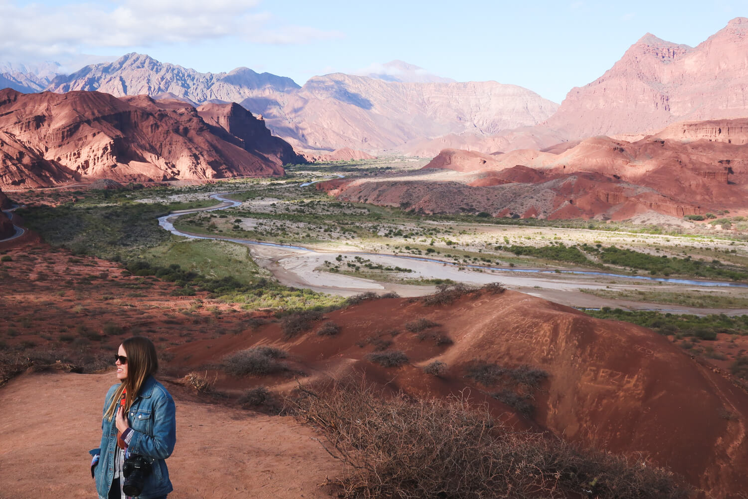 Day trips from Cafayate include the Quebrada de las Conchas