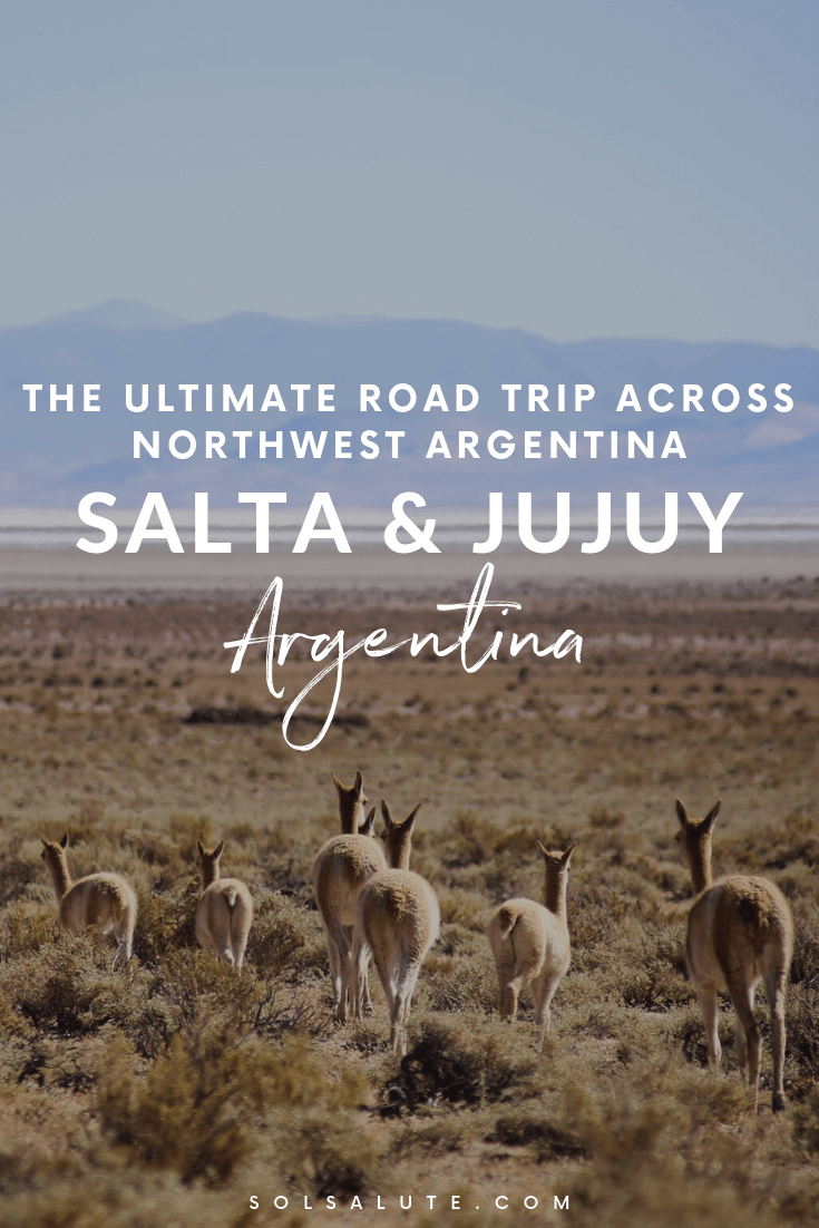 The perfect Northwest Argentina Itinerary, Road Trip Salta & Jujuy Itinerary for what to do in Salta, Where to stay in Salta #Salta #Argentina #Jujuy