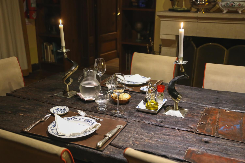 The dining room at Estancia la bandada