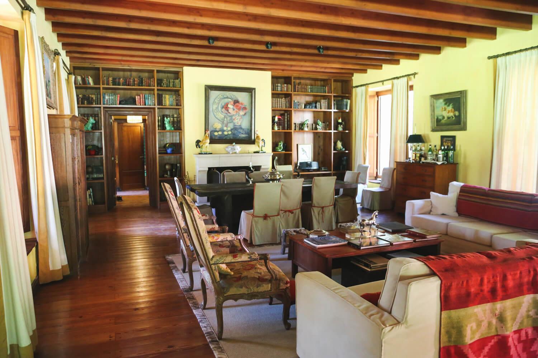 Estancia La Bandada living room