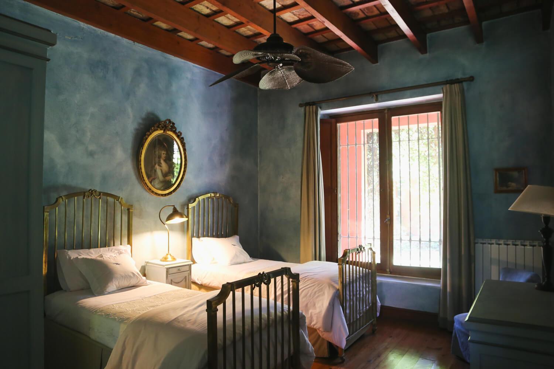 A double room at Estancia La Bandada