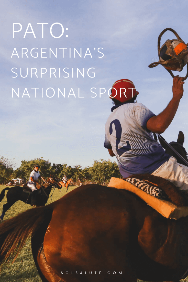 Learn about Argentina's national sport Pato, the dark history of the national sport of Argentina and how to see Pato in Buenos Aires #buenosaires #argentina
