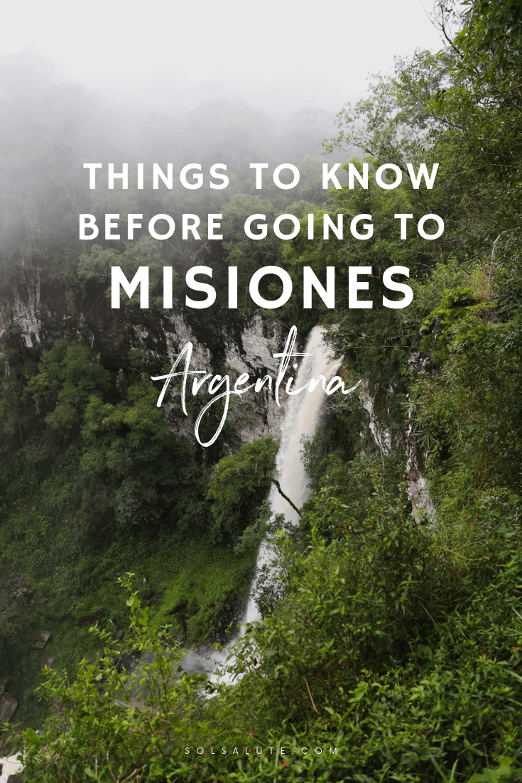 Things to know before visiting Misiones Argentina, things to do in Misiones Northeast Argentina, what to do in Misiones, Waterfalls, Iguazu Falls, Jesuit Missions in Argentina #Misiones #Argentina