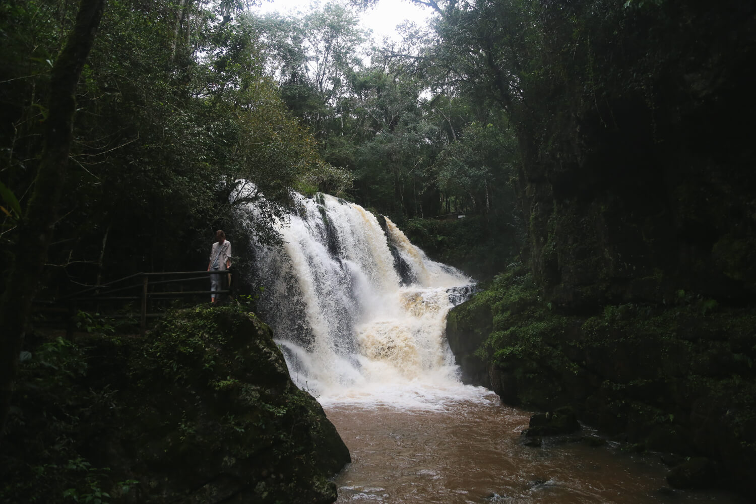 Waterfalls in MIsiones Argentina