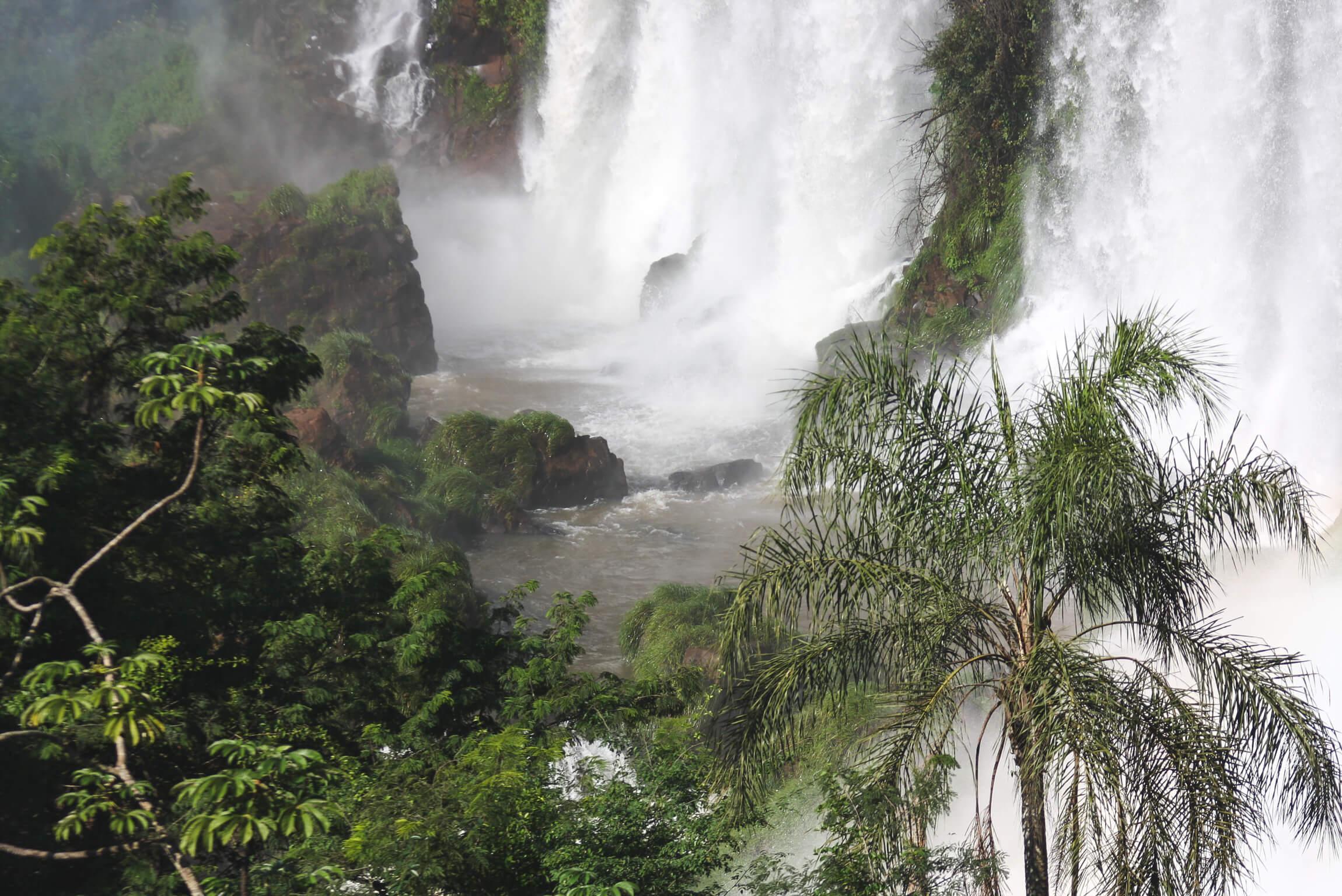 visiting Iguazu Falls Argentina