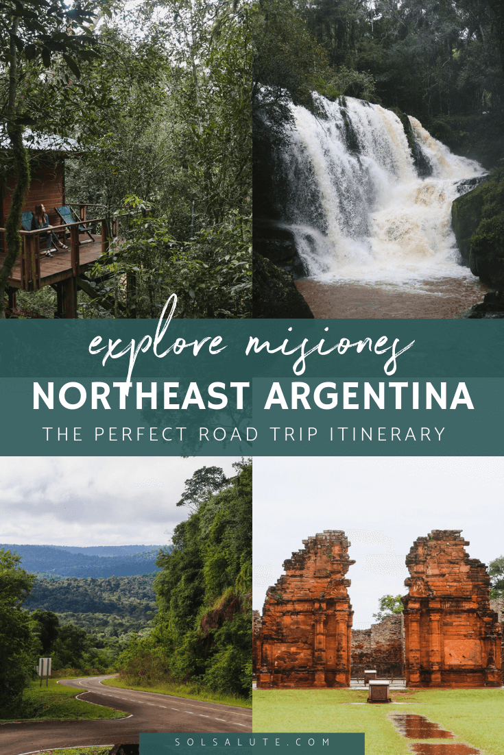 Explore Misiones, Northeast Argentina road trip to Jesuit missions, San Ignacio Mini, Salto Encantado and Saltos Mocona Falls, Where to stay in Misiones, visit a yerba mate plantation #Argentina