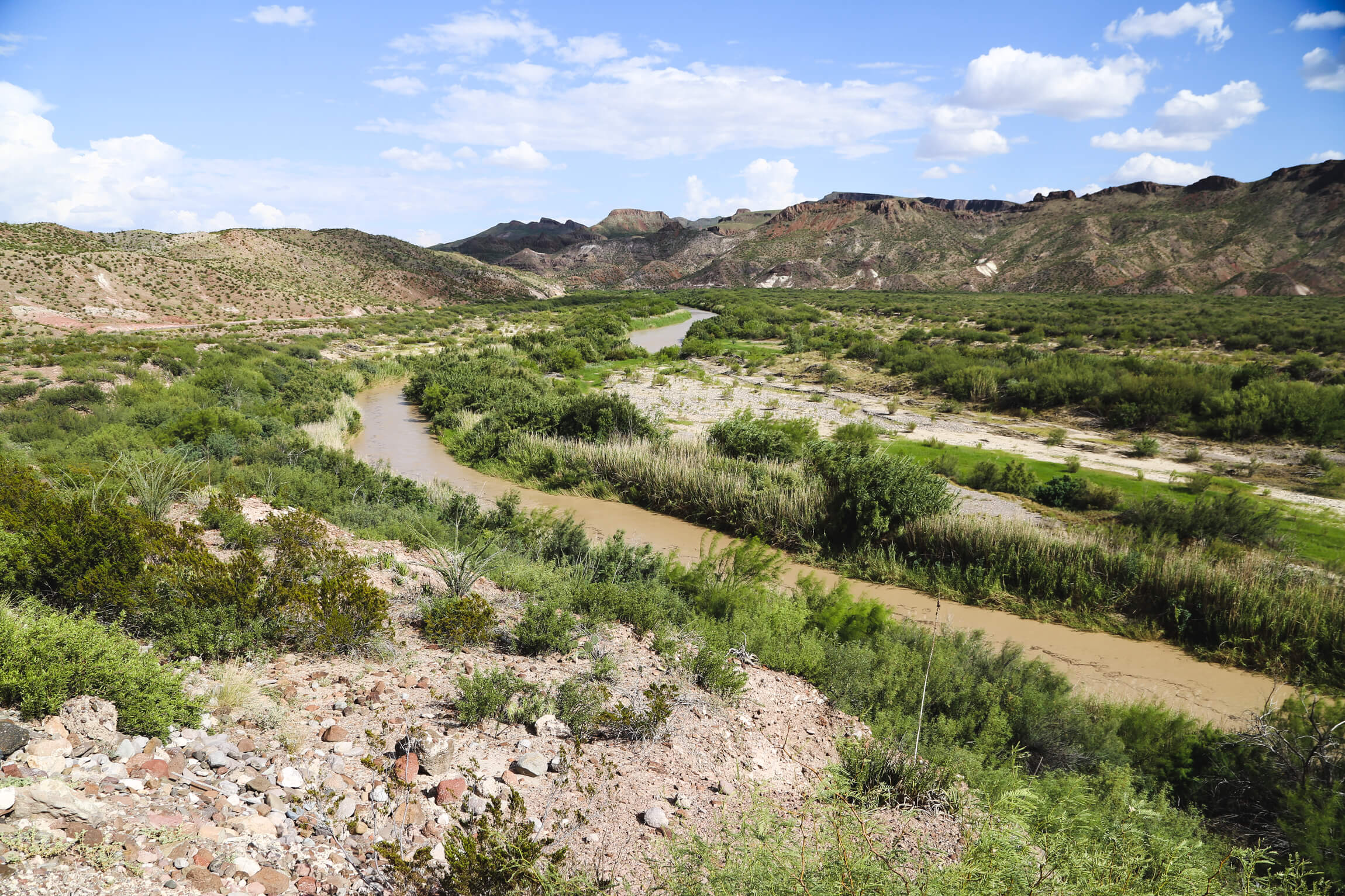 The Texas River Road