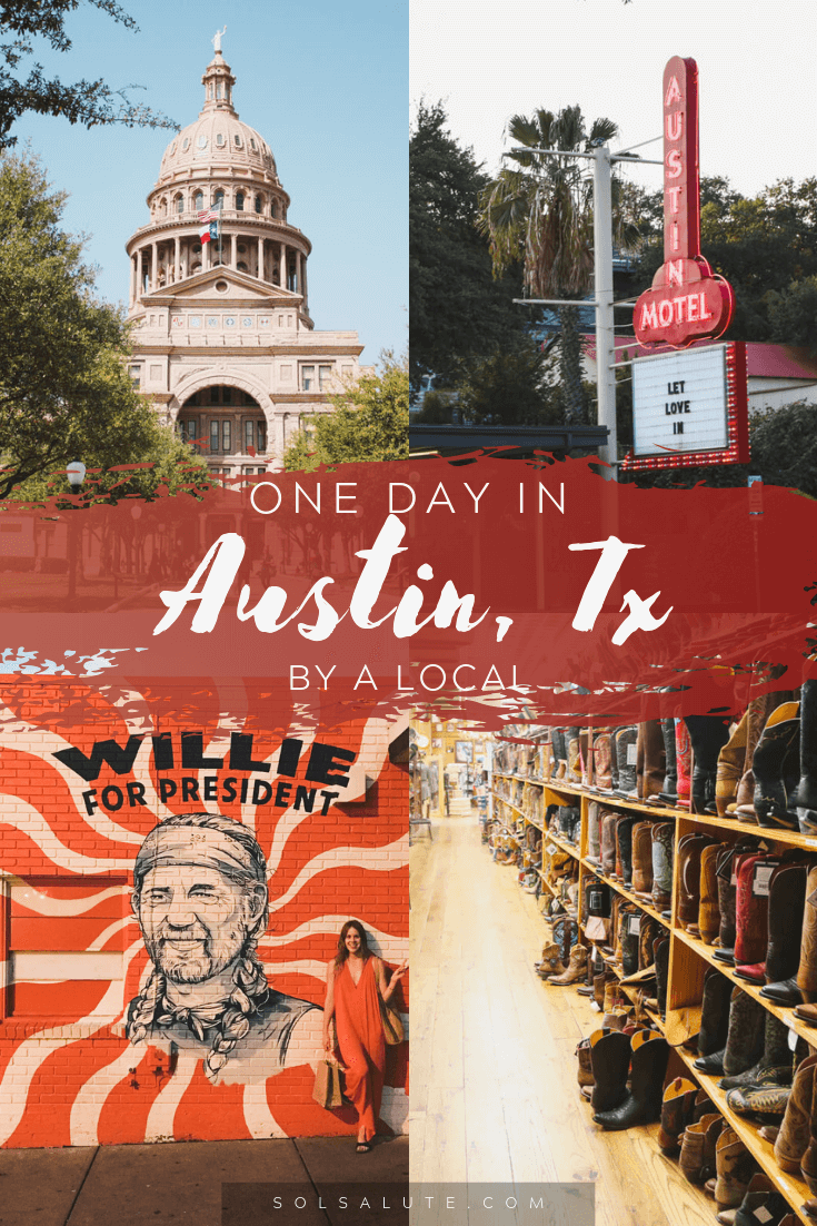 How to spend one day in Austin Texas | 1 day in Austin itinerary | 1 day in Austin Texas Itinerary | What to do in Austin in 1 day | Things to do in Austin Texas in a day | The perfect Austin itinerary | Visit Austin Texas | Weekend in Austin | Best summer day in Austin in summer | where to eat in Austin | Where to stay in Austin | where to go shopping in Austin #Austin #Texas #TexasTourism