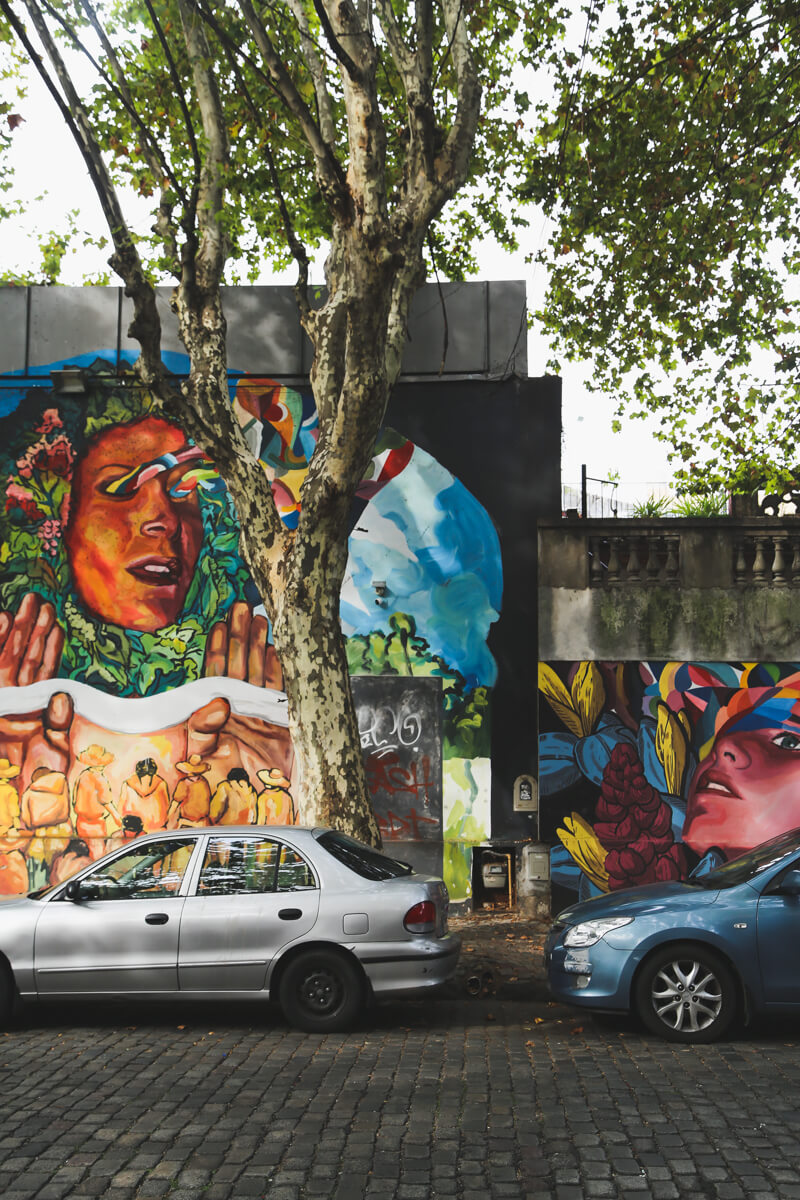 Villa Crespo has some of the best street art in Buenos Aires
