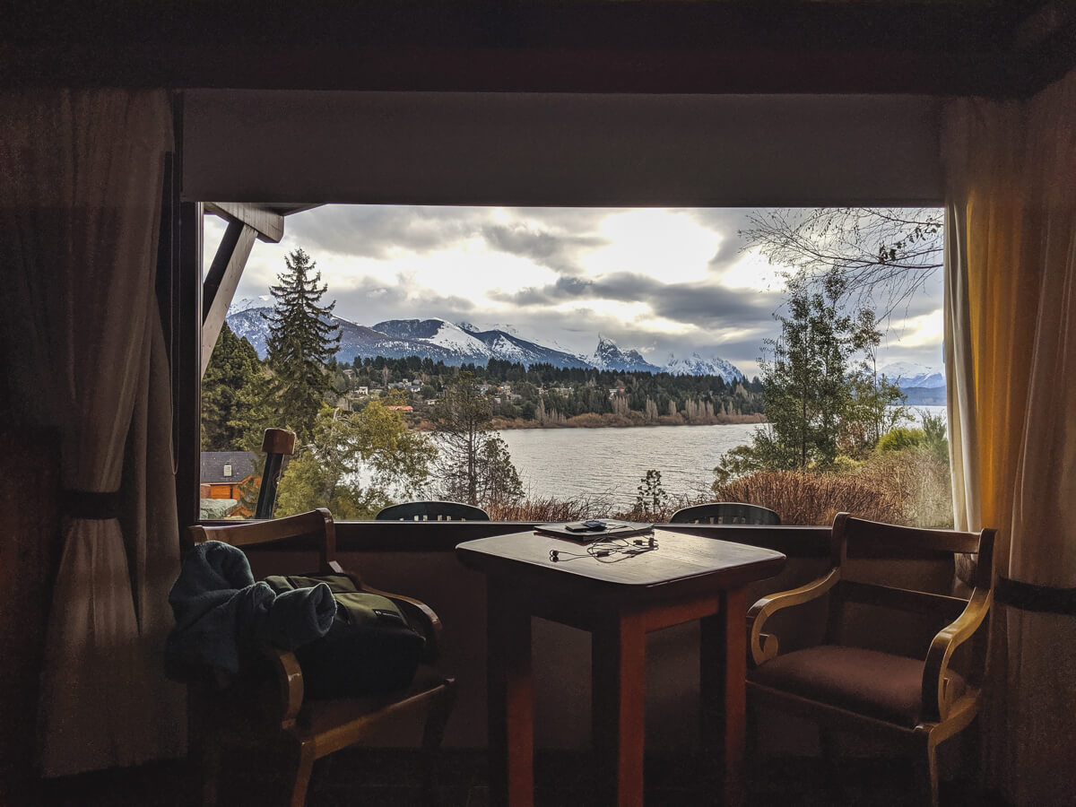 My favorite part about the Charming Luxury Lodge was this view from our bed! It doesn't get much better than this.