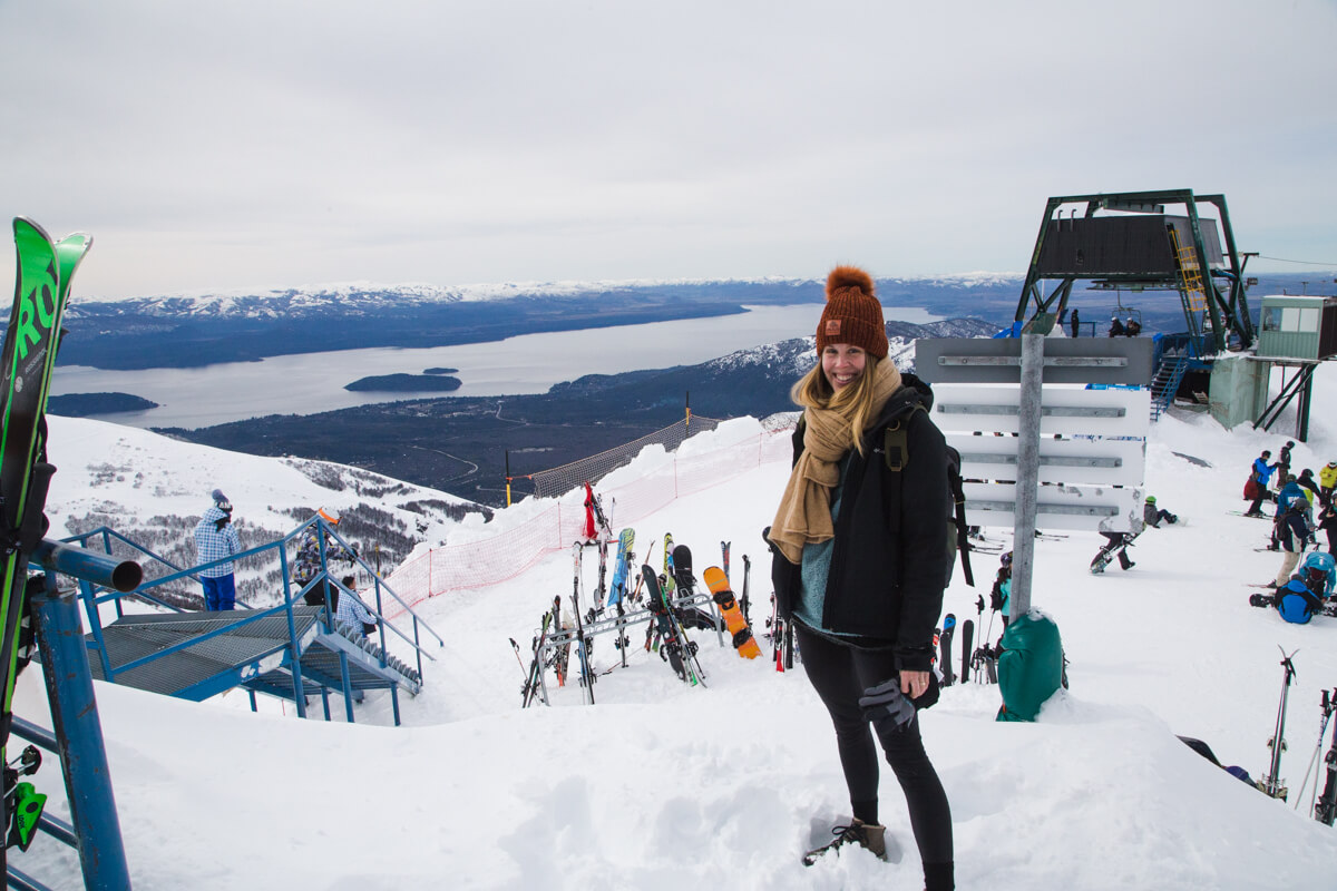I didn't ski but still had a great time on my winter Bariloche trip!