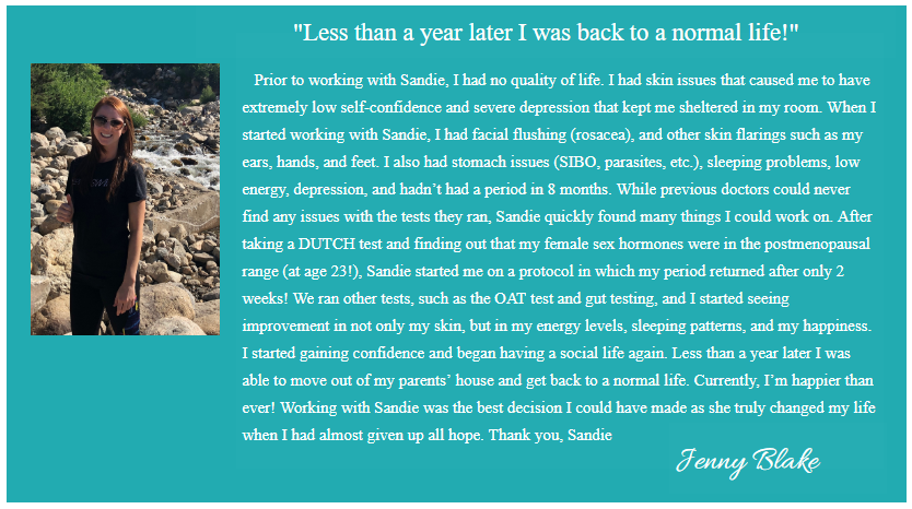 CLICK HERE TO WATCH JENNY'S VIDEO TESTIMONIAL