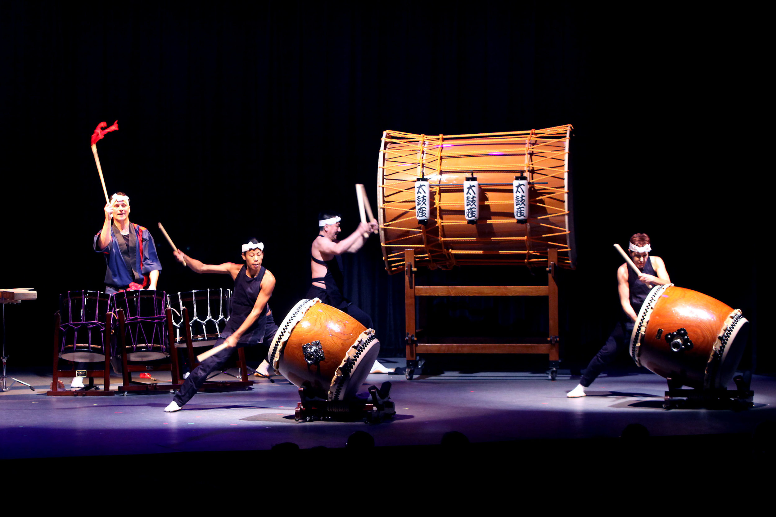 A musical incarnation of raw physical power, Taiko drumming is as much a physical spectacle as an aural one. You'll hear everything from a soft pitter-patter to a thundering, eardrum-bursting shudder, created by a team of artists moving as one. A spectacle not to be missed!