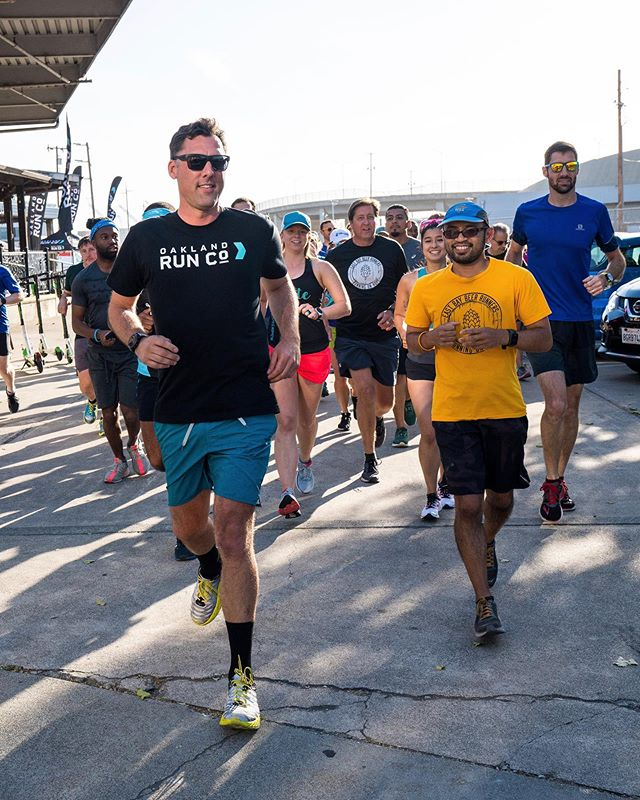 We're creating a place to showcase + celebrate everything Oakland offers through the eyes of our running community. →  Take stride with us. #OakRunCo