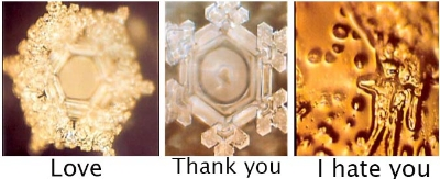 Emoto Water Crystal Research