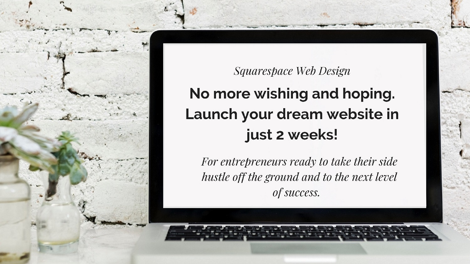Squarespace Website Design - Get one-on-one attention from a professional web designer to create your ideal website and attract clients!