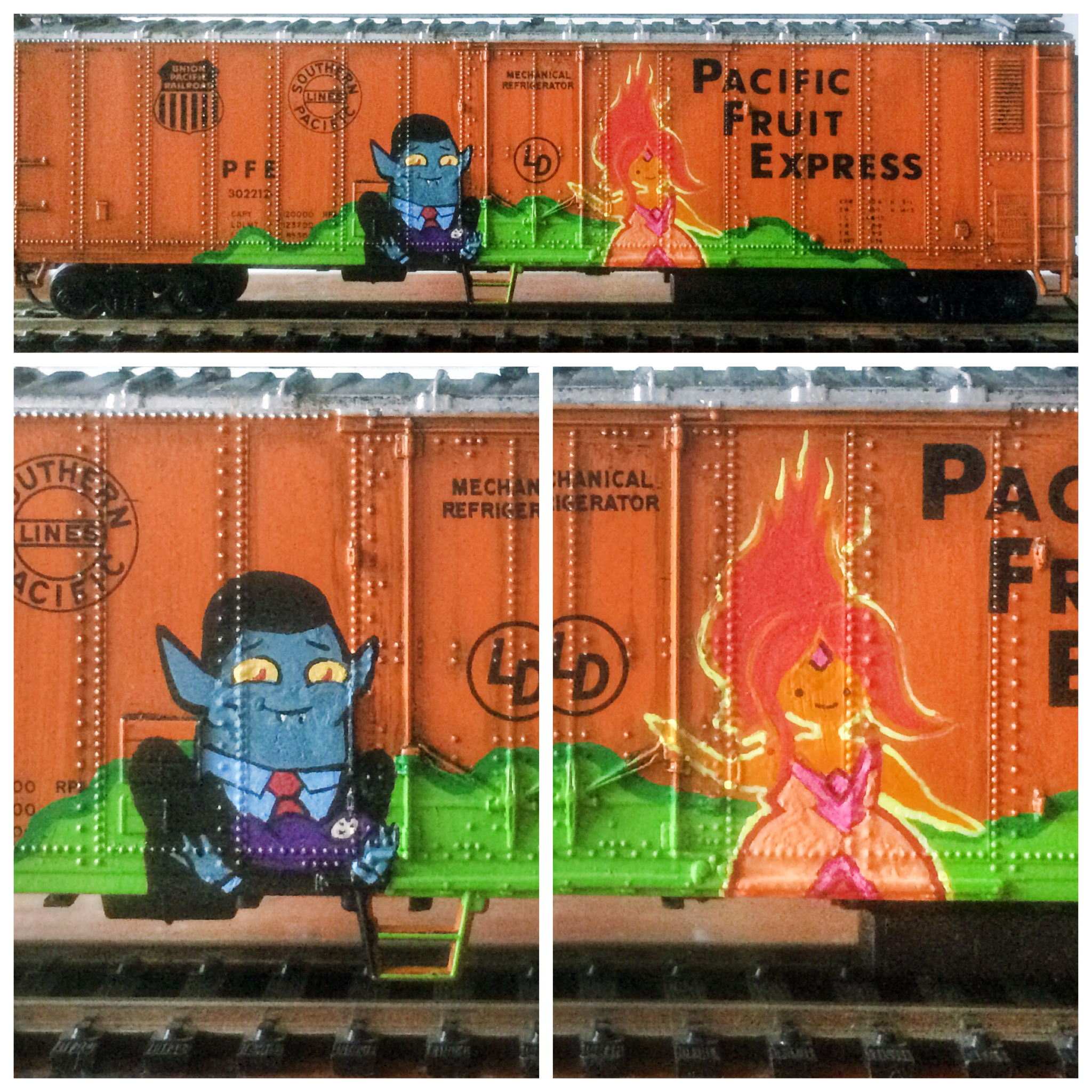Hunson Abadeer & Flame Princess