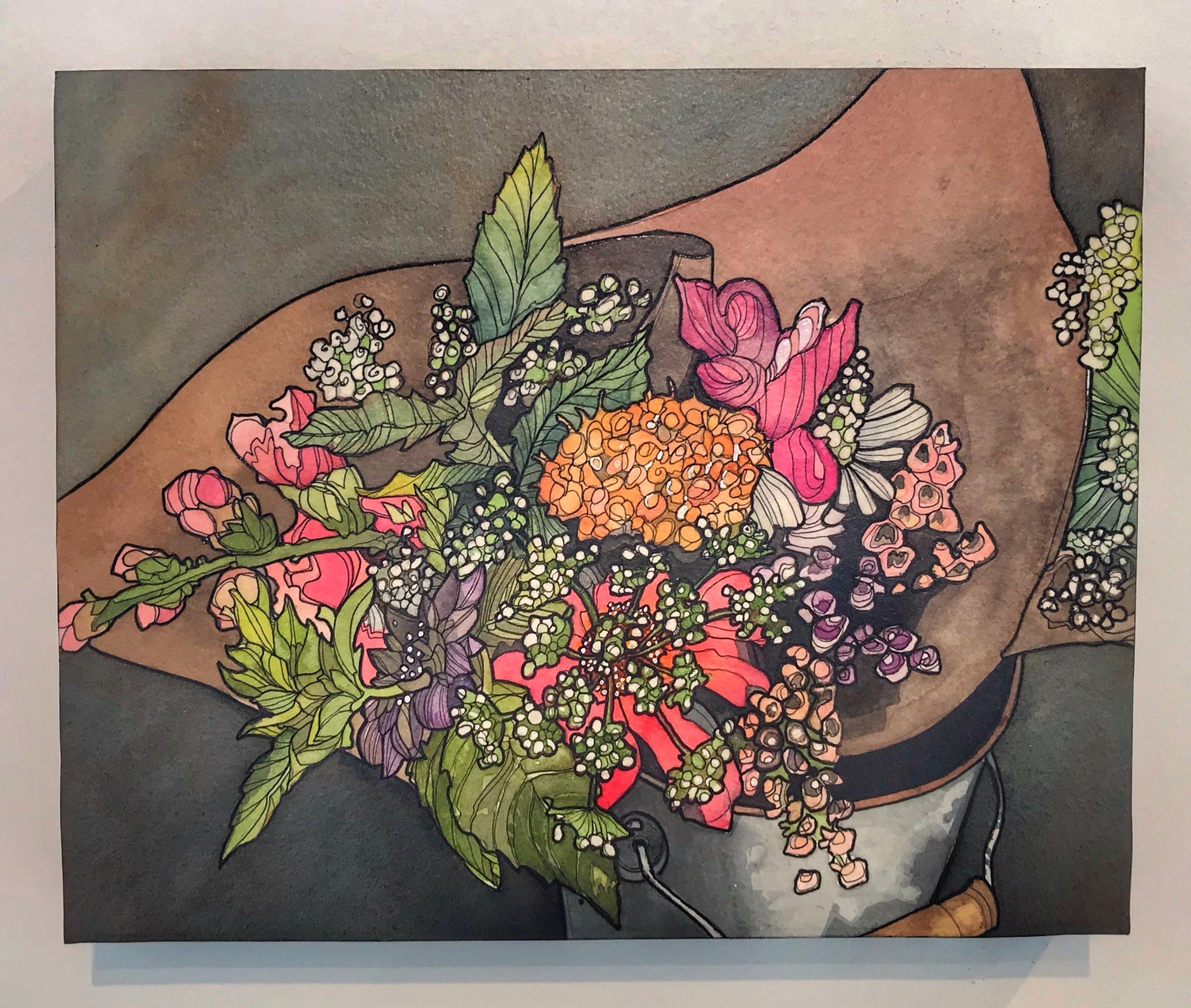 Farmers Market Bouquet  11x14