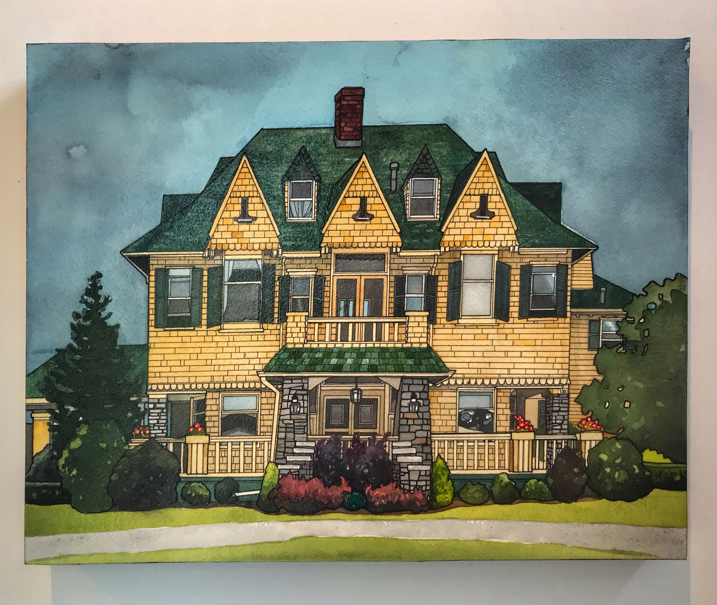 The Hillcrest  14x18