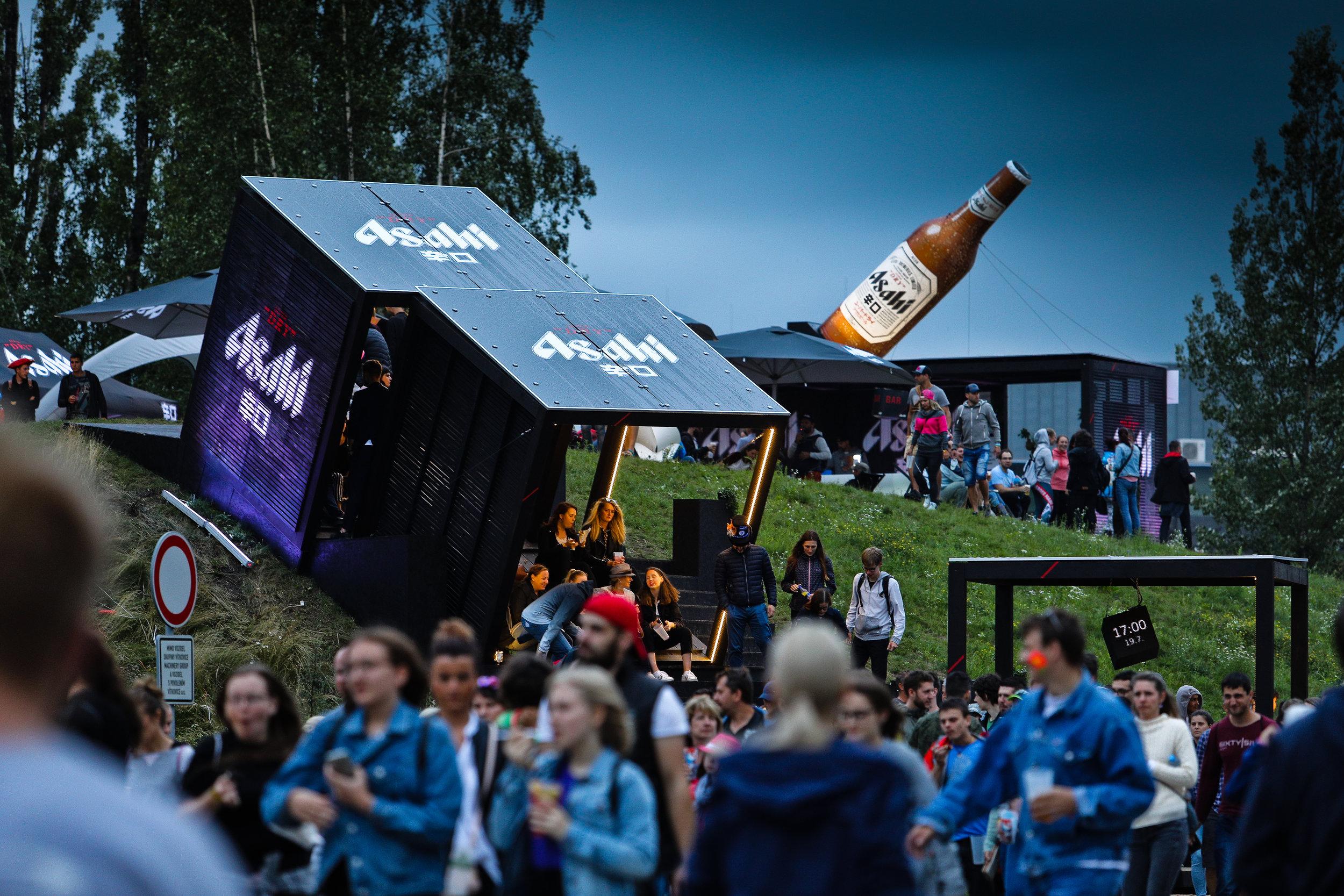 2018  Colours of Ostrava  12 000 visitors (25% of total visitors)