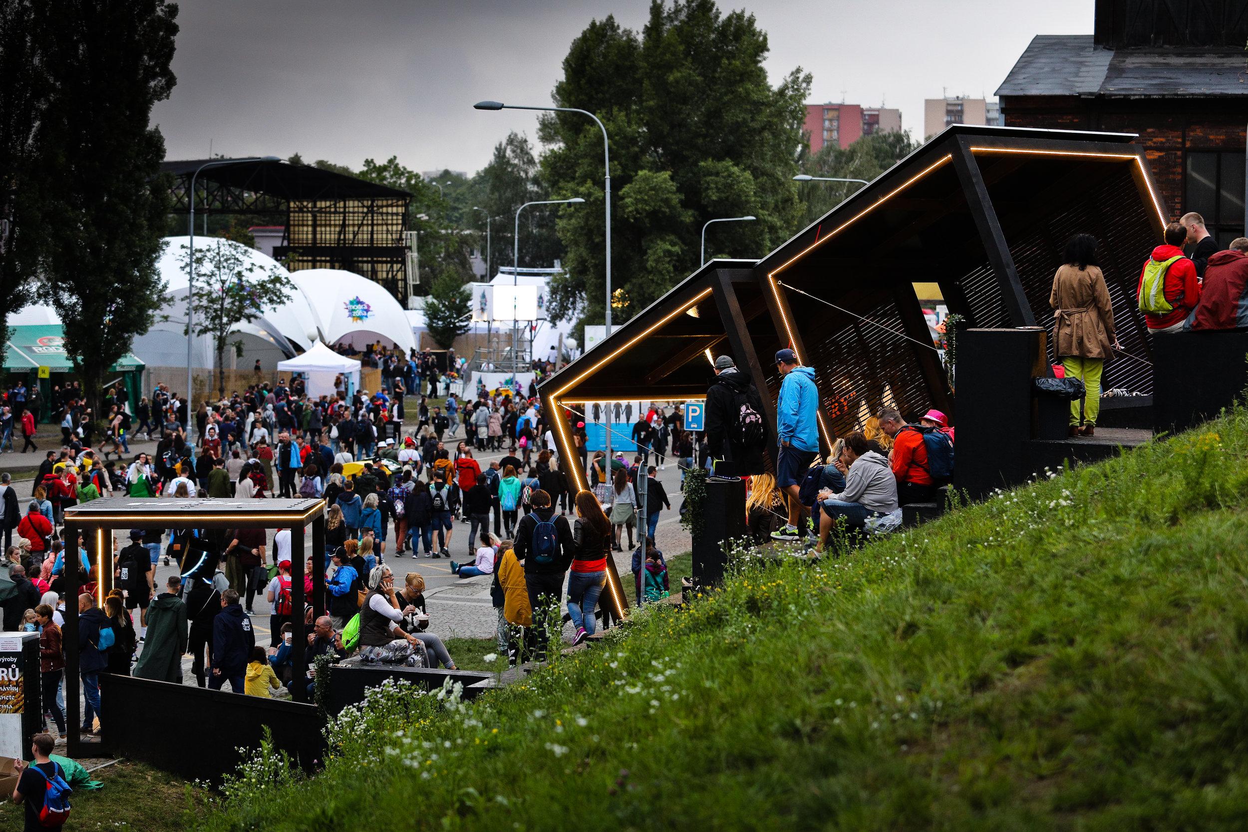 2018  Colours of Ostrava  12 000 (25 % z celkového počtu návštěvníků)