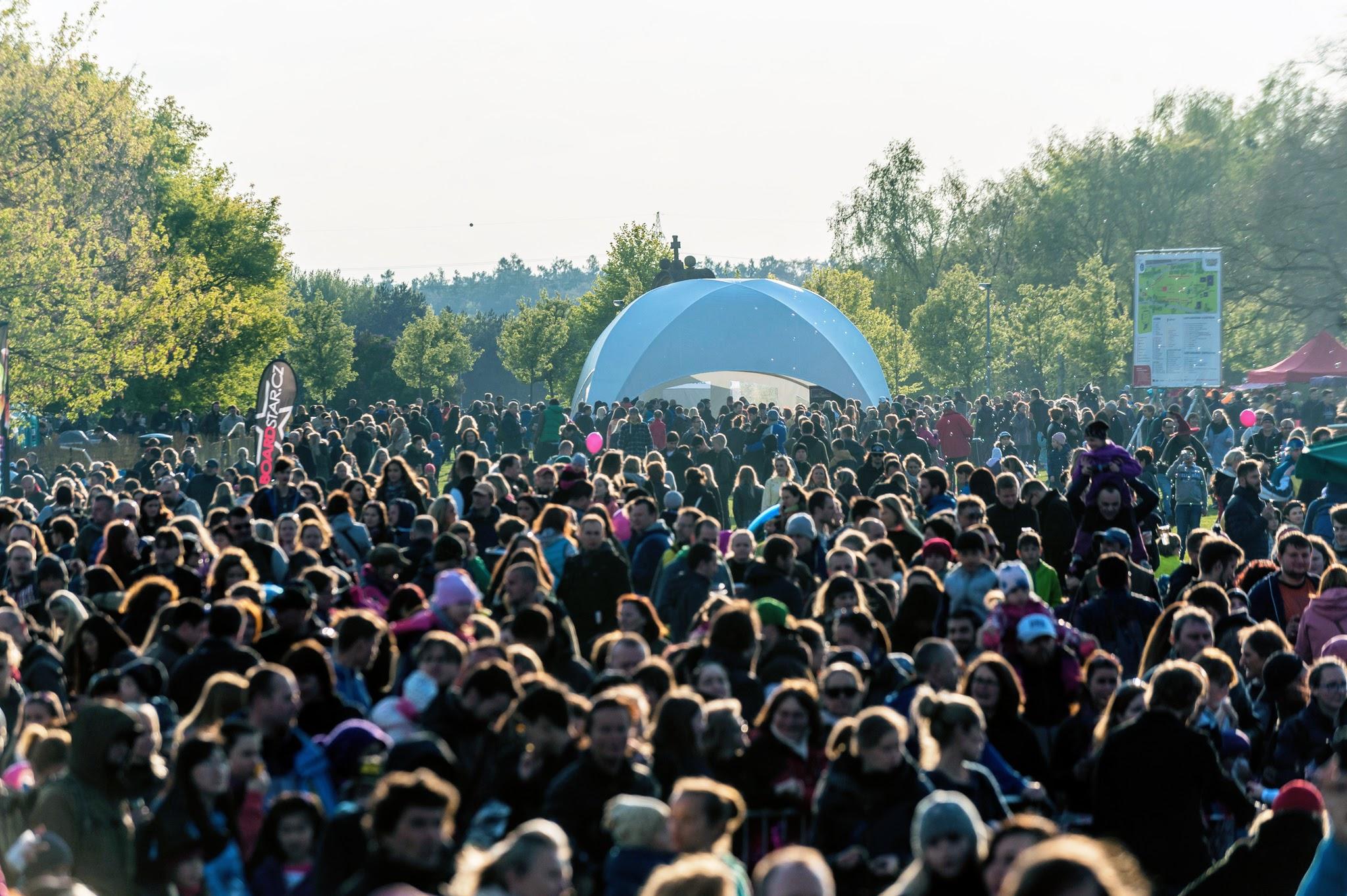 2002 - 2018  park Ladronka, Praha 6  30 000 návštěvníků