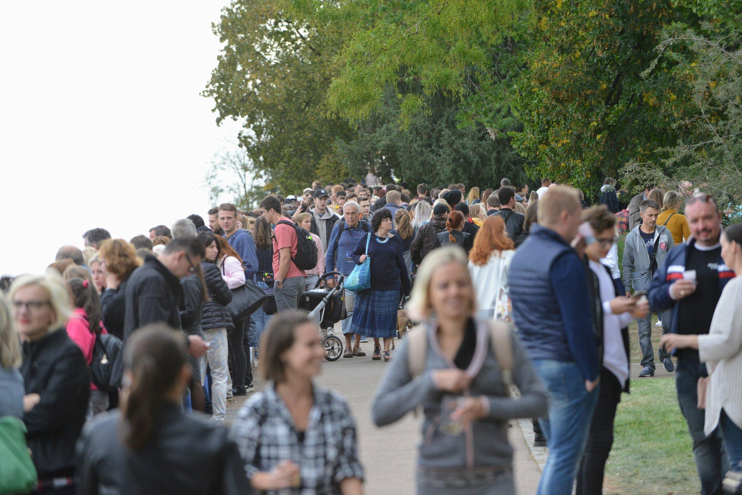 2014 & 2018  náměstí Míru a park Grébovka, Praha  35 000 návštěvníků