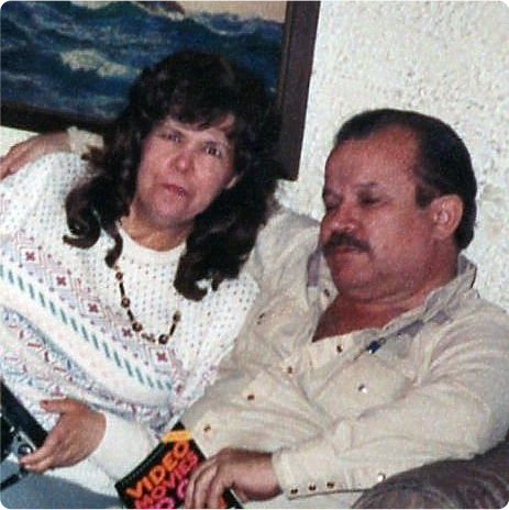Nora and Darrel Steinback in the 1980s