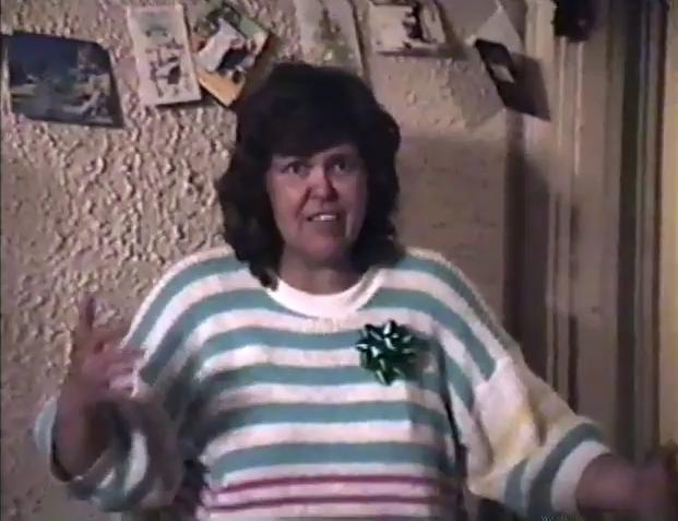 Nora Steinback, December 1988