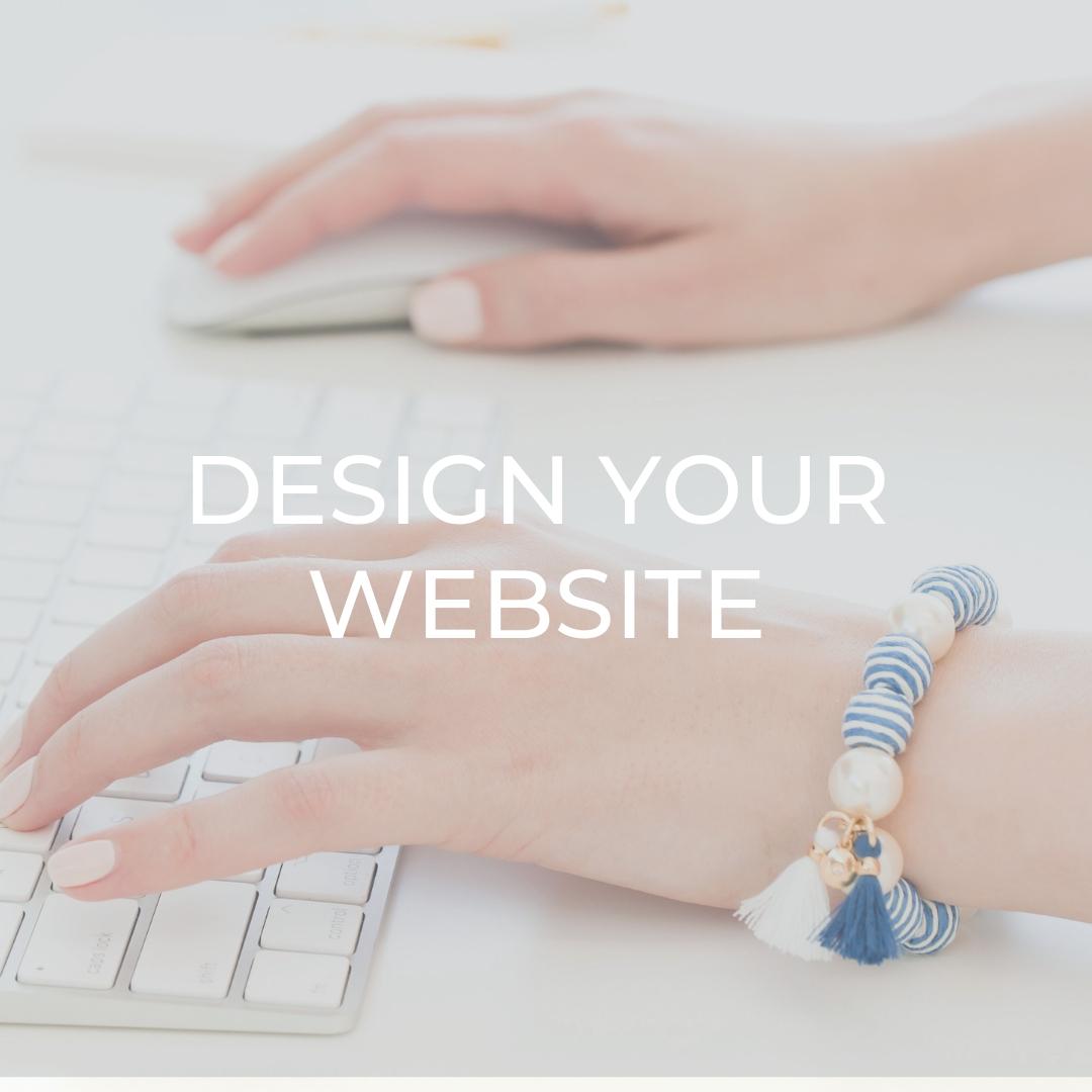 Design Your Website   Directly Jen