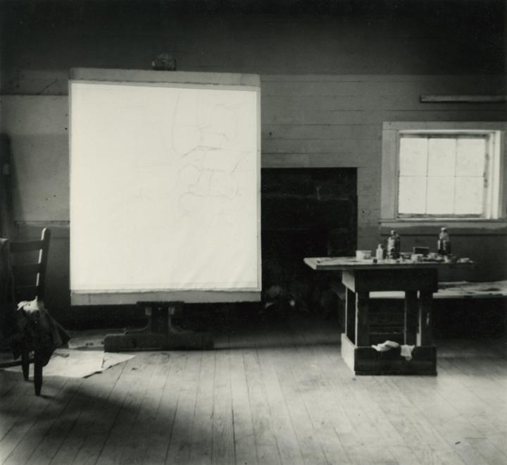 Jack Tworkov, Robert Rauschenberg, Black Mountain College, 1952