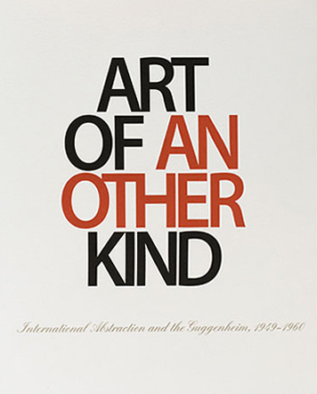 Art of Another Kind at The Solomon R. Guggenheim