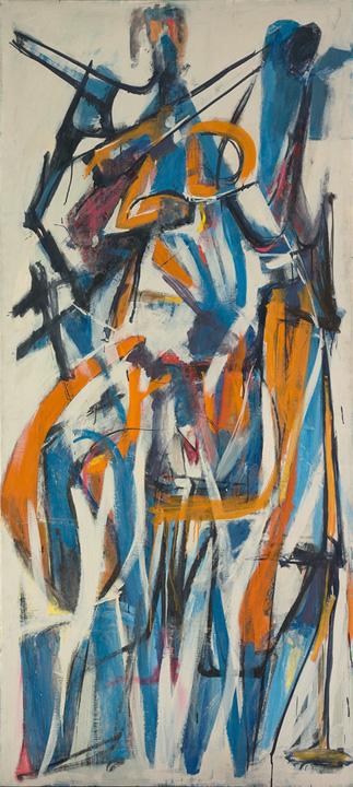 Jack Tworkov, Metropolitan Museum of Art, Athena, Muriel Kallis Newman