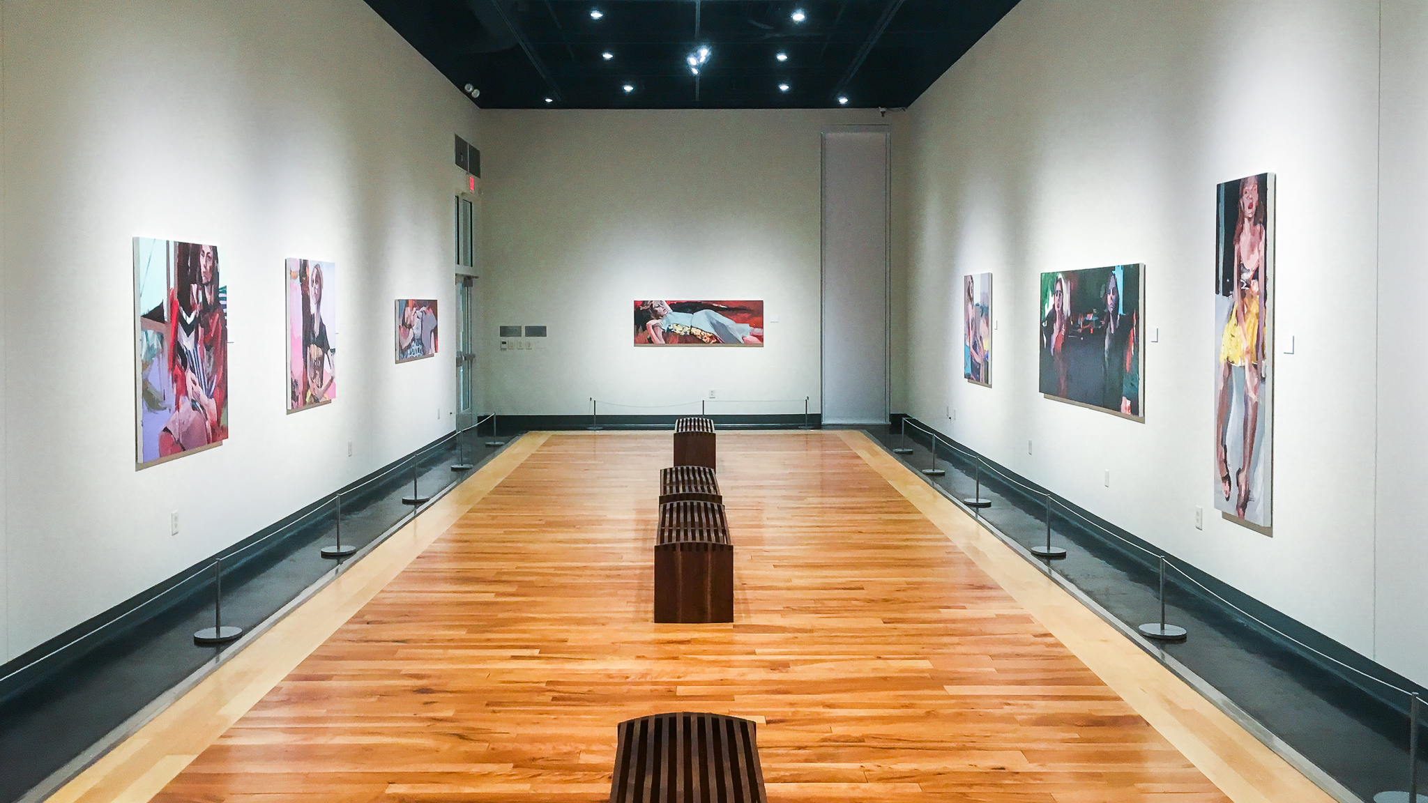 "Gallery installation image from ""Mirror, Mirror""."