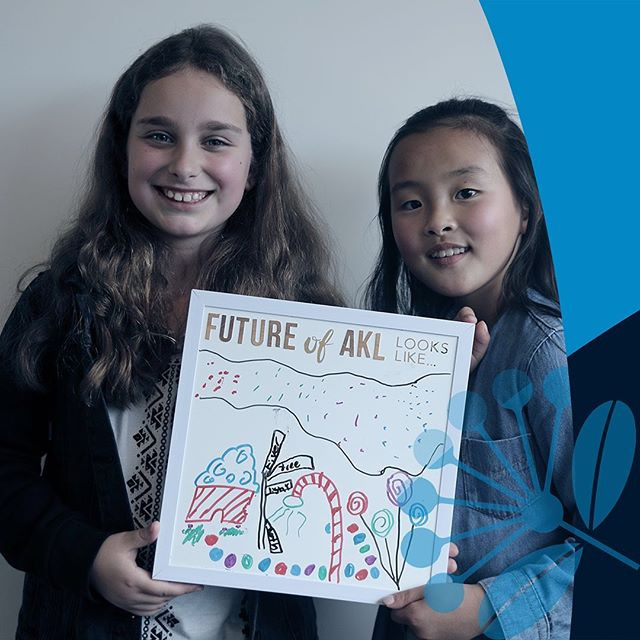 "#FutureofAKL looks... ""Colourful, vibrant and fun!"" - Ana Miljkovic  from Croatia 🇭🇷 and RaelKim Park from Korea 🇰🇷"