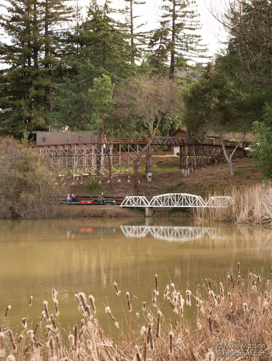 Feather River Bridge an Redwood Trestle.