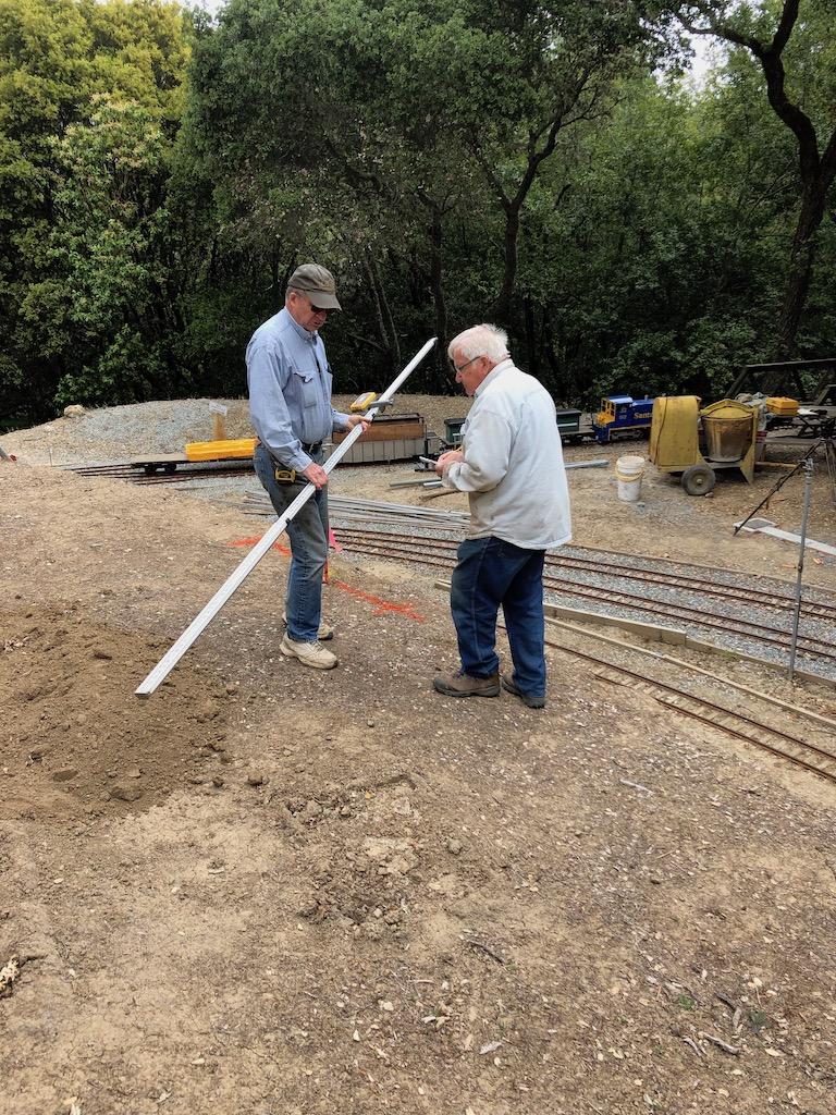 Surveying Lumber Camp ROW