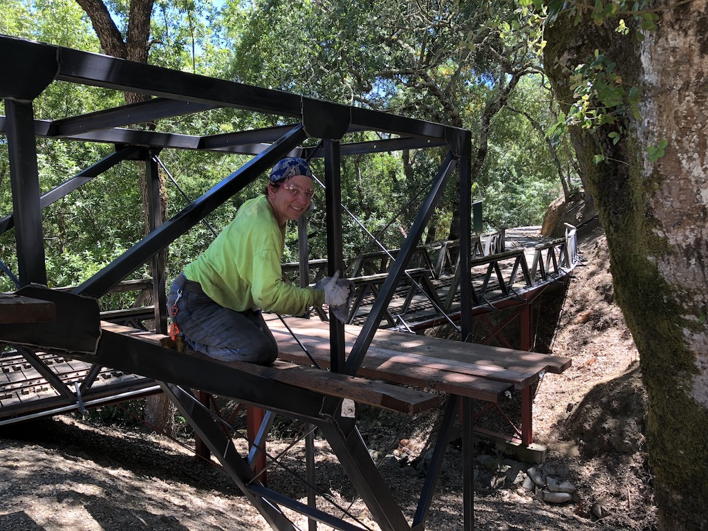 After cleaning the bridge three times it is almost ready to paint