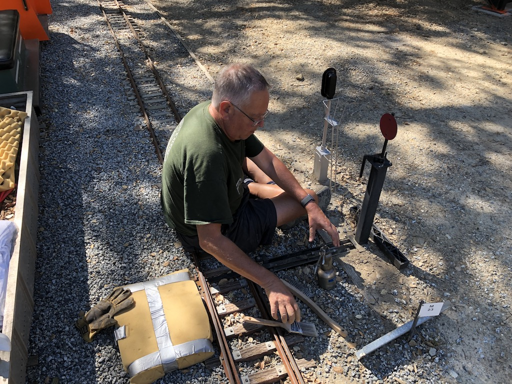 Russ & Bob worked on switch maintenance
