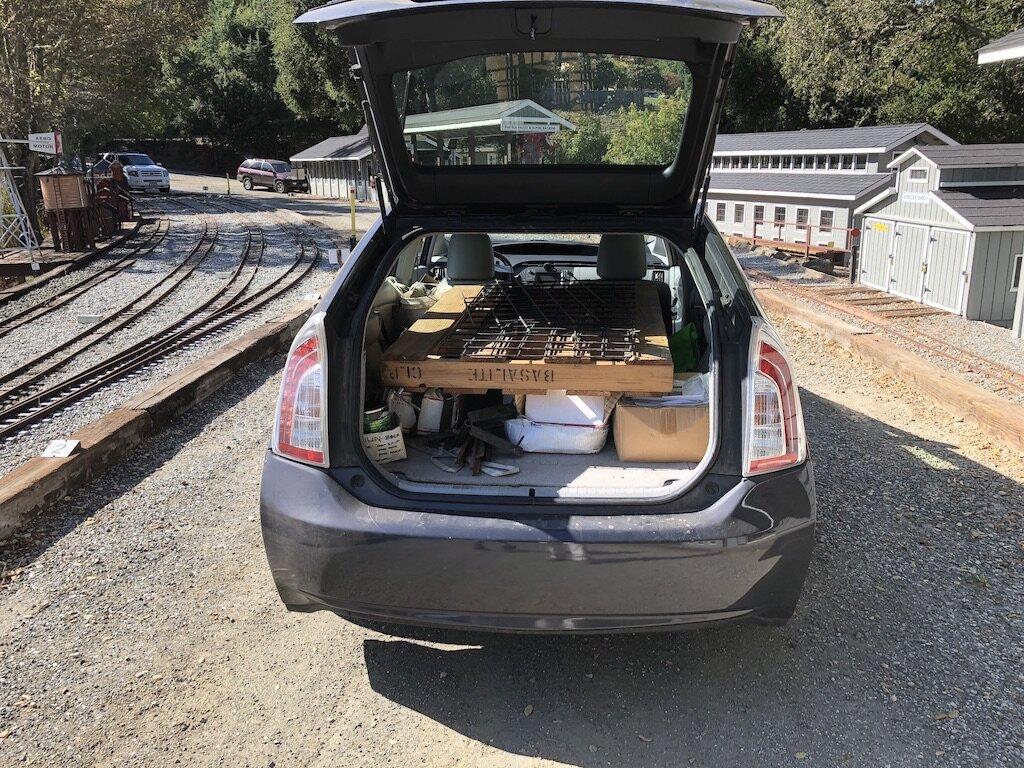 Prius serves as a pickup truck