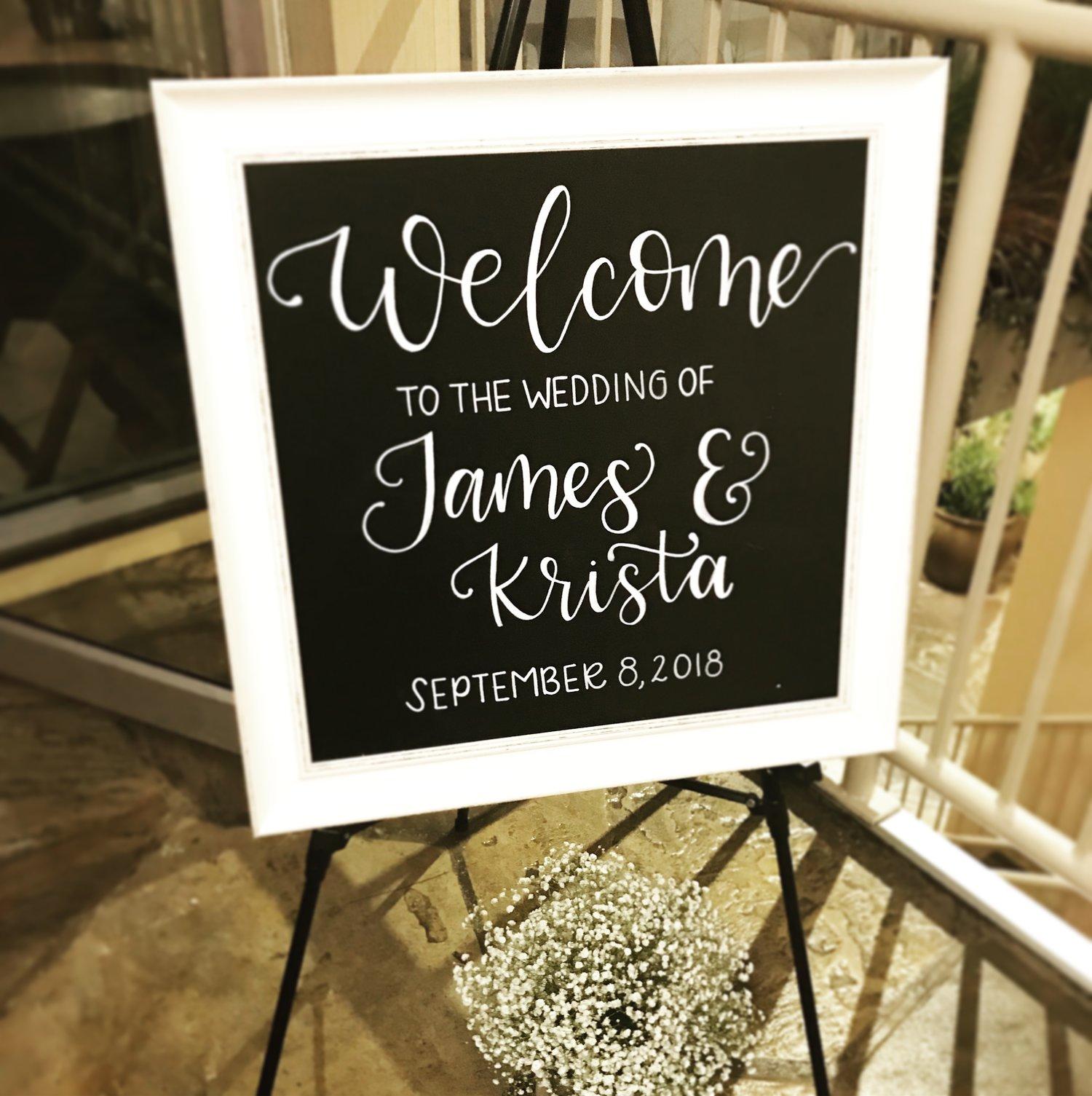 Welcome Wedding Sign Calligraphy.jpeg