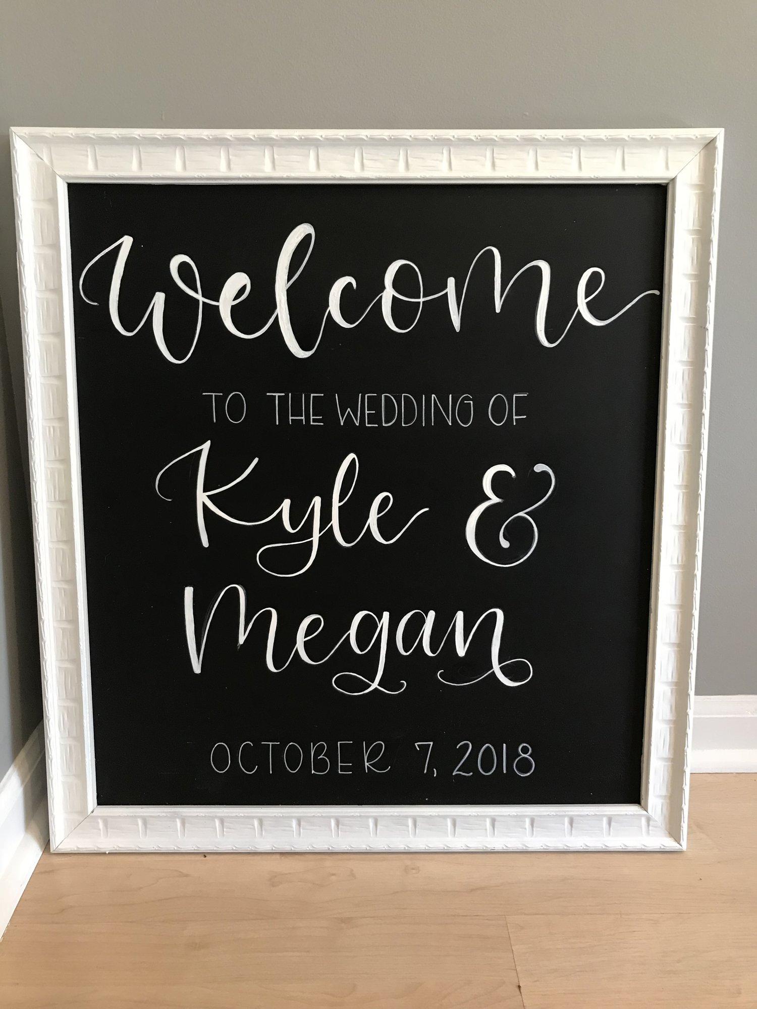 Calligraphy welcome wedding sign.jpeg