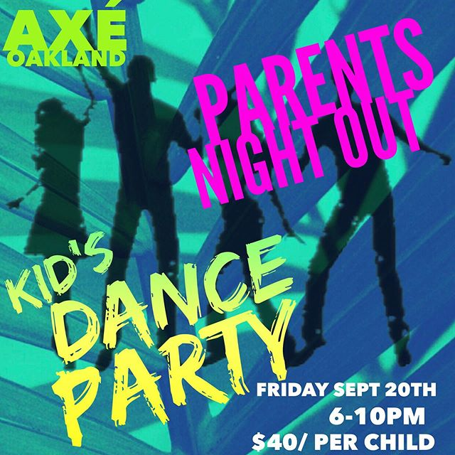 Next parents Night Out is Friday Sept 20th. 6-10pm. Outdoor games, Dance Party, bouncy house, pizza and a movie and popcorn. $40/ child or $35/ siblings. Reserve your child's spot by sending payment via Venmo to @goodbonez with Childs name. Invite their friends! And plan your self something fun to do, you deserve it parents!