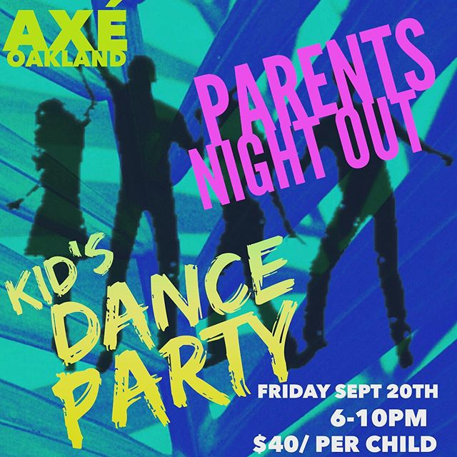 Parents Night Out is tomorrow Friday Sept 20th. 6-10pm. Outdoor games, Dance Party, bouncy house, pizza and a movie and popcorn. $40/ child or $35/ siblings. Reserve your child's spot by sending payment via Venmo to @goodbonez with Childs name. Invite their friends! And plan your self something fun to do, you deserve it parents!