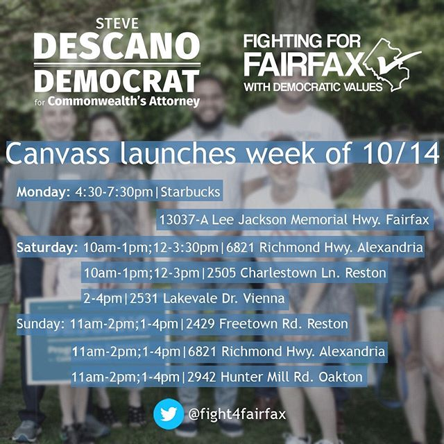 What successful canvassing looks like:🚶✔️ 🚰✔️ ☀️✔️ 🌊✔️ = 🗳️✔️ For the most up-to-date #fight4fairfax schedule, phone bank and to sign up, visit: http://fairfaxdemocrats.org/2019campaigns/