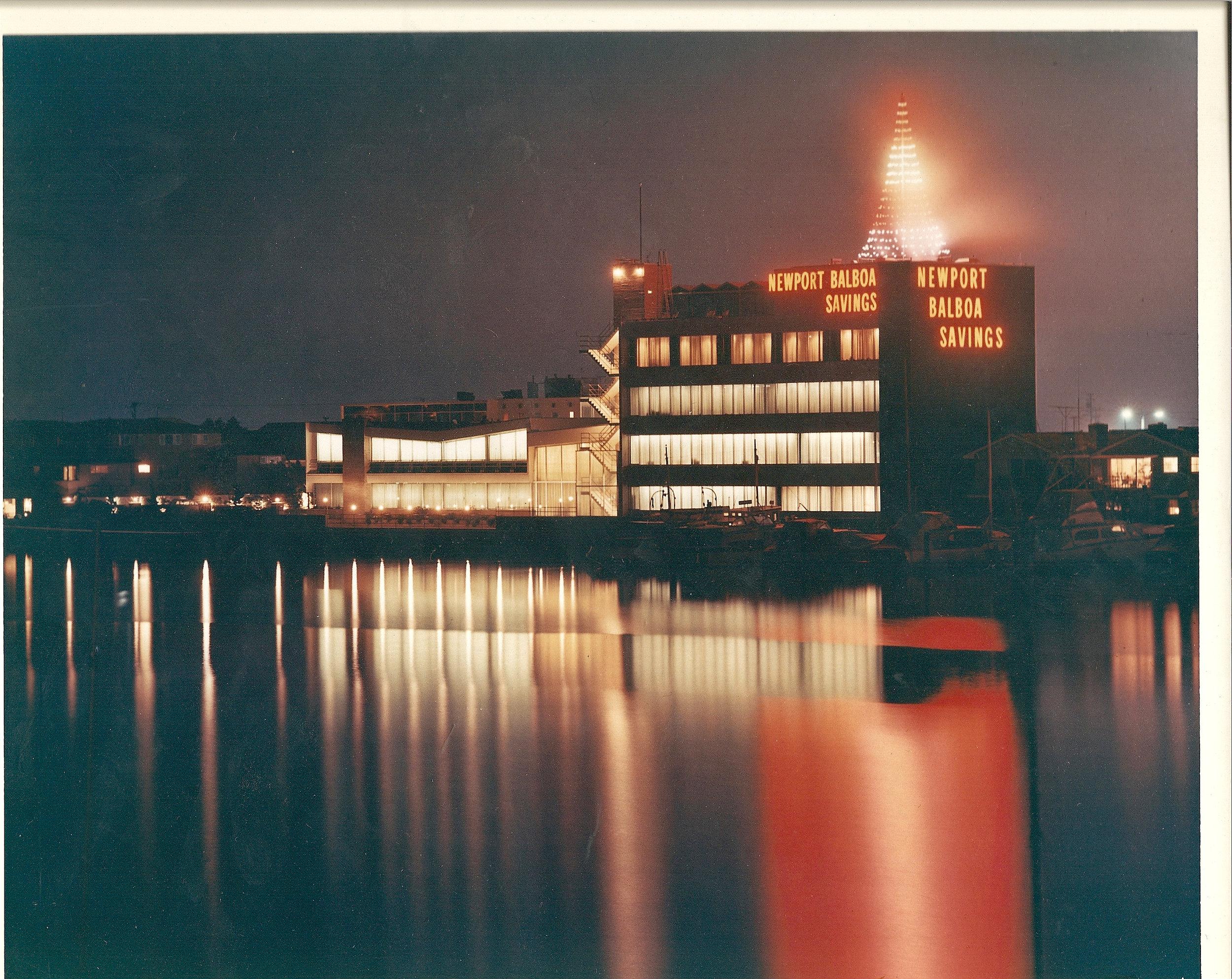 View at Christmas c. 1961.